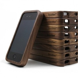 alanatt - Vintage Walnut Wood iPhone4/4s Case