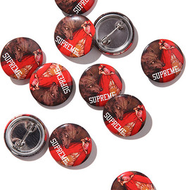 Supreme - Red Riding Hood Button