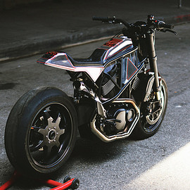 Suicide Machine Company - Harley-Davidson Street 750 flat tracker