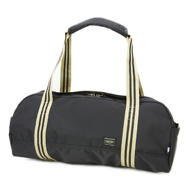"HEAD PORTER - ""IVY"" BOSTON BAG (L) BLACK"