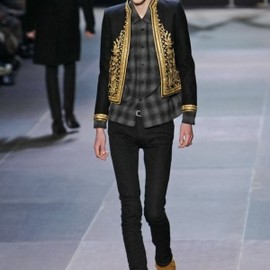 Saint Laurent Paris - Saint Laurent Menswear Fall Winter 2013 Paris