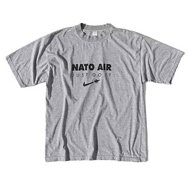 90's NATO AIR JUST DO IT   T-shirt