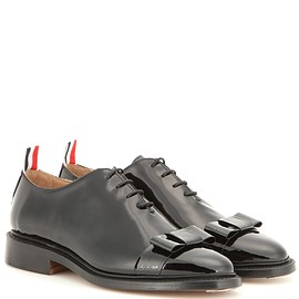 Thom Browne - Patent leather Oxford shoes