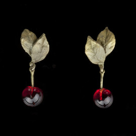Michael Michaud - Morello Cherry Earrings