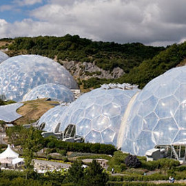 Nicholas Grimshaw - The Eden Project: Geodesic Domes