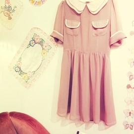 Girly Rose - Brown Dress