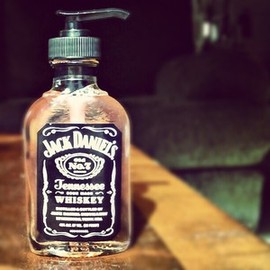 Recycled Jack Daniel's Soap Dispenser - Small Size
