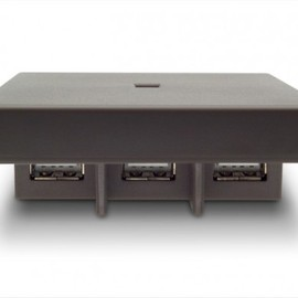 LaCie - Core7 USB Hub - Grey