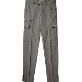 MICHAEL BASTIAN - Cotton and Linen-Blend Trousers