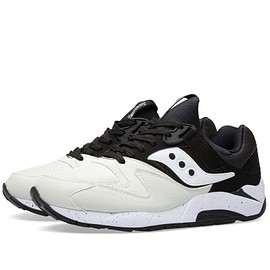 SAUCONY - SAUCONY GRID 9000 WHITE/BLACK