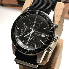 "CITIZEN - CITIZEN QUARTZ CHRONOGRAPH 0510- K16008 ""SPEED MASTER"""