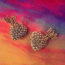 Matina Amanita for sretsis - Love Struck Earrings