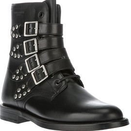 SAINT LAURENT - Belted Rangers boot