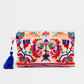 OYSHO - Cockerel embroidered clutch