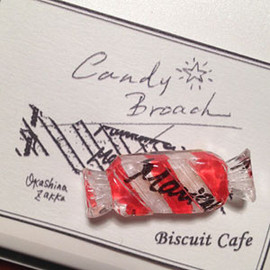 BISCUIT CAFE - Candy Broach (TypeA)