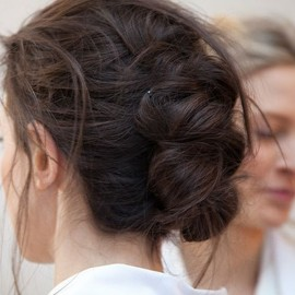 Soft, simple updo/hairstyle
