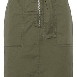3.1 Phillip Lim - Cotton-blend twill skirt