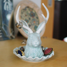 Hidden Animal Teacup- Bear by Imm Living