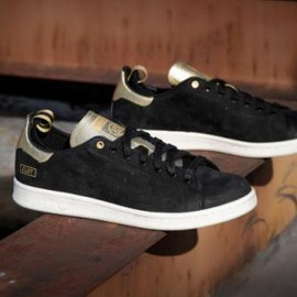 adidas - CLOT × ADIDAS CONSORTIUM STAN SMITH BLACK/CHALK/METALLIC GOLD
