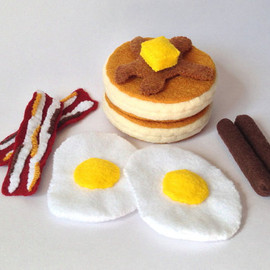 FeltFoodTruck - breakfast set