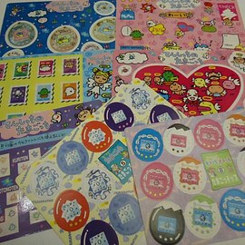 Tamagotchi - tamagotchi set stickers