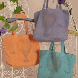 mother - APPLE SCALES G-DYE TOTEBAG