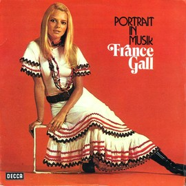 FRANCE GALL - France Gall ‎– Portrait In Musik (LP)