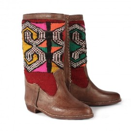 Bohemia - Kilim & Leather Boots, Meryem
