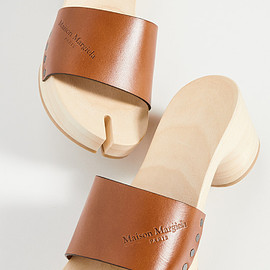 Maison Margiela - Wooden Clog Sandals