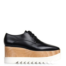 STELLA McCARTNEY - Elyse lace-up platform shoes