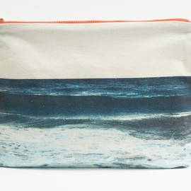 Dezso - Tulum Navy Wave Pouch 2013