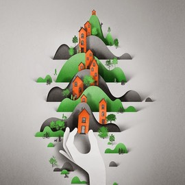 Eiko Ojala - Editorial illustrations