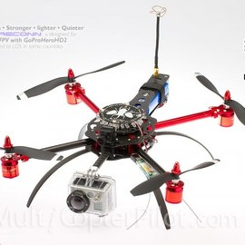 MultiWiiCopter - Scarab QUAD X Stealth-FPV Reconn - ARF Electronica - Quadcopter