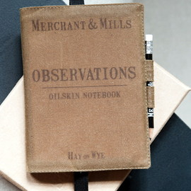MERCHANT & MILLS - OILSKIN NOTEBOOK