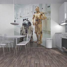 Photowall - Star Wars - R2-D2 and C-P3O
