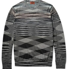 Missoni - Space-Dyed Wool-Blend Sweater