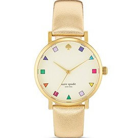 kate spade NEW YORK - Gold Patchwork MetroWatch