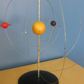 Malcolm Brook - Astrolabium Planetary Table Model