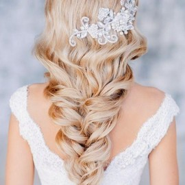 WEDDING - BEAUTIFUL WEDDING HAIRSTYLES FOR LONG HAIR