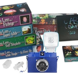Lomography - Diana F+ True Blue Deluxe Kit