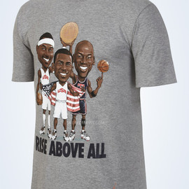 NIKE - Jordan Triple Threat Rise Above All T Shirt
