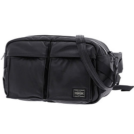PORTER - TANKER LEATHER KURA CHIKA ORIGINAL WAIST BAG