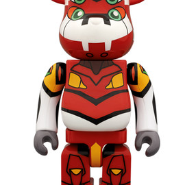 BE@RBRICK - Mediacom Toy BE@RBRICK Evagelion No.000EVA-02PRODUCTION