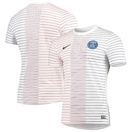 NIKE - Paris Saint-Germain Nike 2019/20 Dry Performance Pre-Match Top - White
