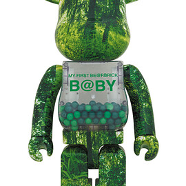 MEDICOM TOY - MY FIRST BE@RBRICK FOREST GREEN Ver. 1000%