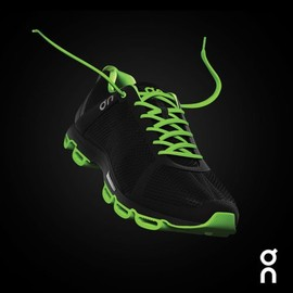ON - Cloudsurfer  BLACK | LIME