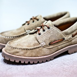 Junya Watanabe COMME des GARCONS MAN - Sued Boat Shoe