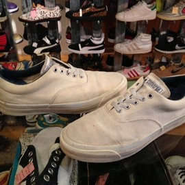 "converse - 「<used>1990s converse SKIDGRIP white""made in USA"" size:26cm? 6800yen」完売"