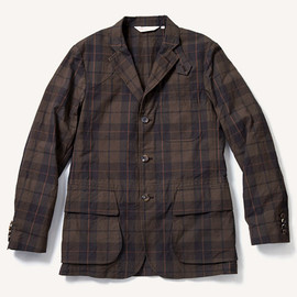 THE RUGGED MUSEUM - DARK MADRAS HUNTING JACKET