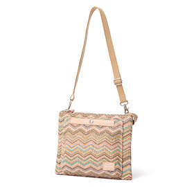 "HEAD PORTER - ""GRANADA"" SHOULDER BAG BEIGE"